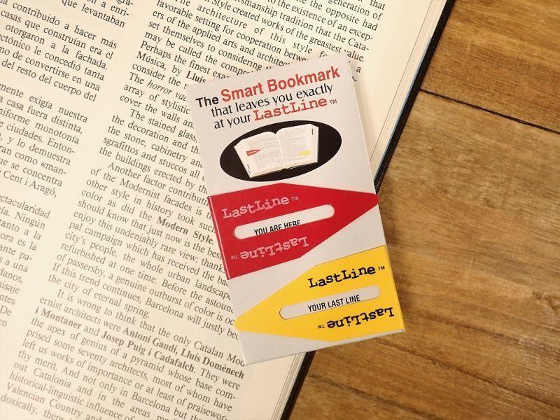 画像2: 【ネコポスOK】 カナダ Last Line BOOKMARK/ブックマーカー 2個セット レッド/イエロー