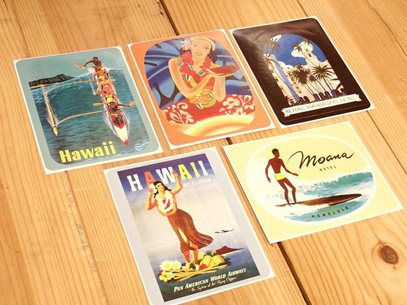 画像3: 【ネコポスOK】 TRAVEL LABELS/トラベルラベル ALOHA HAWAII