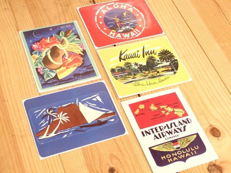 画像4: 【ネコポスOK】 TRAVEL LABELS/トラベルラベル ALOHA HAWAII