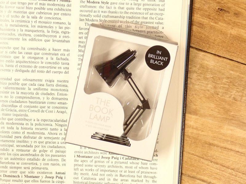 画像3: 【ネコポスNG】 イギリス The Book Lamp/ブックランプ ブラック