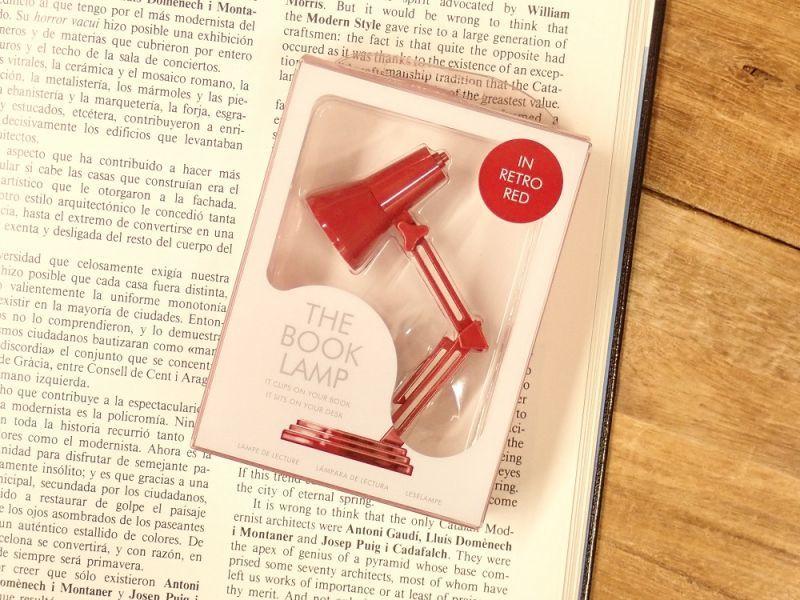 画像3: 【ネコポスNG】 イギリス The Book Lamp/ブックランプ レッド