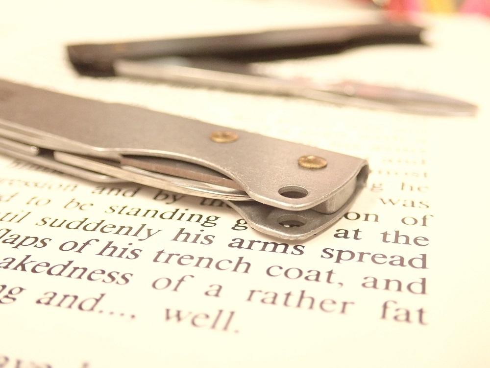 画像3: 【ネコポスOK】 Folding Scissors/フォールディングシザーズ シルバー