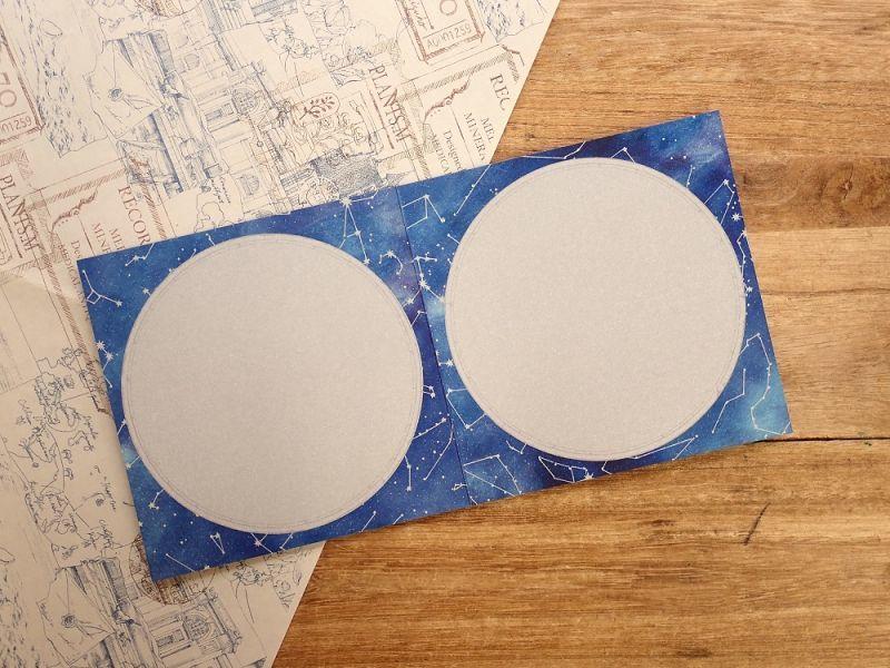 画像2: 【ネコポスOK】 生みたて卵屋 星空シルバーカード