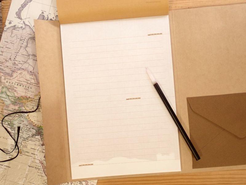 画像3: 【ネコポスOK】 ふみ鉄 便箋5色 レトロ