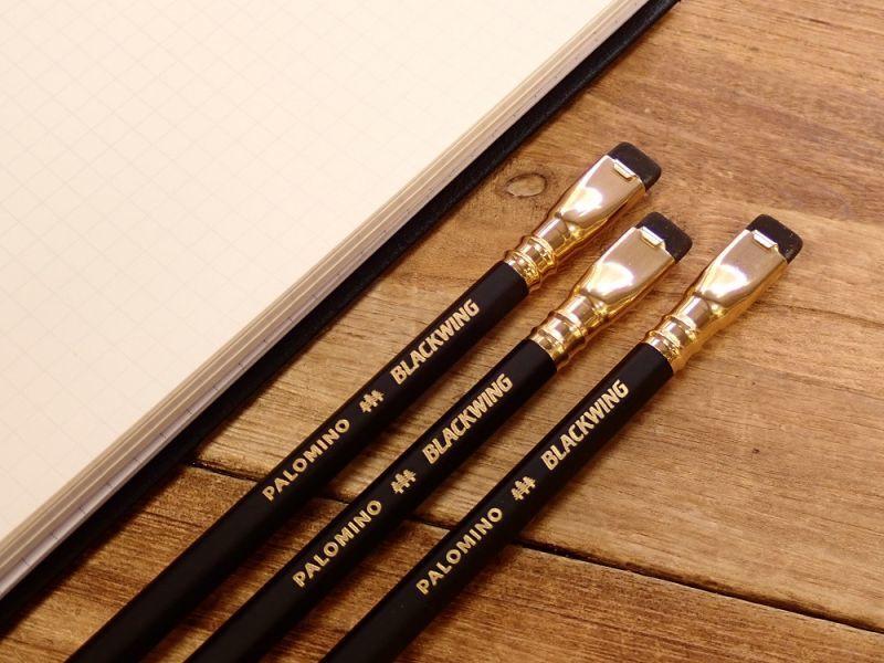 画像1: 【ネコポスOK】 PALOMINO BLACKWING/ブラックウィング 鉛筆(1本)