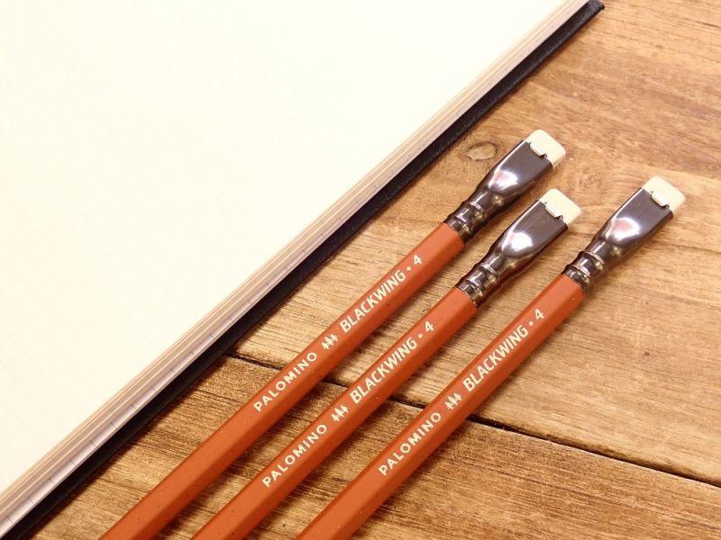 画像1: 【限定品】【ネコポスOK】 PALOMINO BLACKWING/ブラックウィング4 鉛筆(1本)