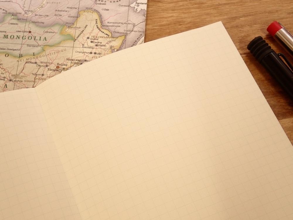 画像3: 【ネコポスOK】 Kumpel Fahrkarte Notizbuch/ノート B6 ブラック/方眼