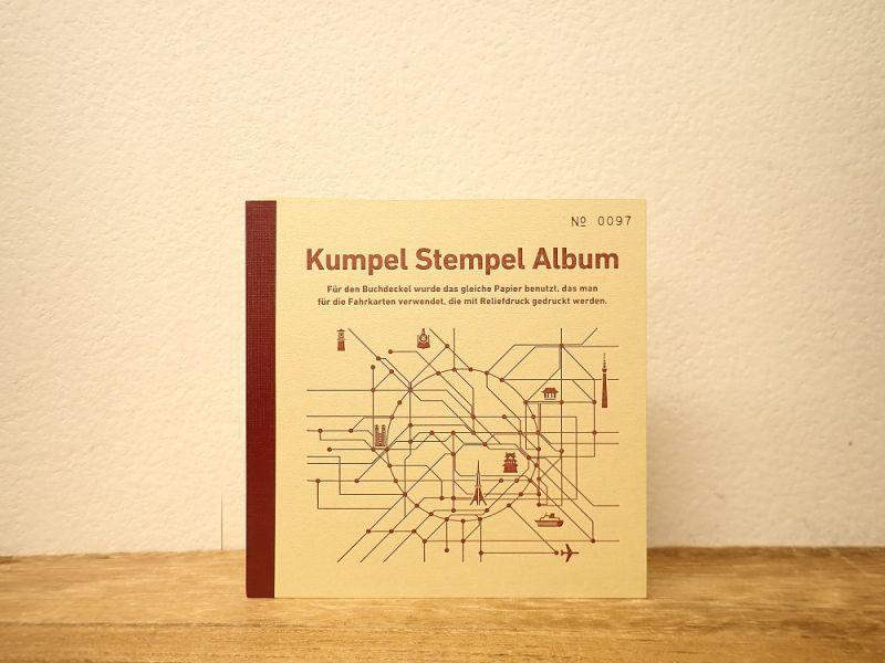 画像1: 【ネコポスOK】 Kumpel Stempel Album/スタンプ帳