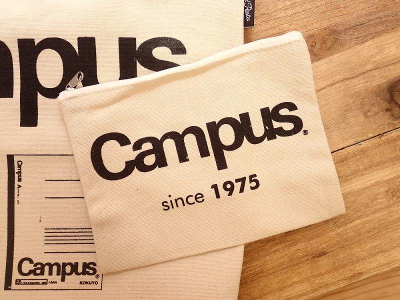 画像2: 【ネコポス△】 OLD RESTA BIG BAG BOOK KOKUYO/コクヨ Campus トートバッグ