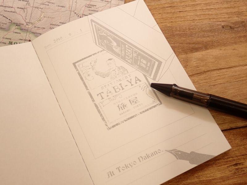 画像4: 【ネコポスOK】 旅屋オリジナル Stamp Book/スタンプブック 飛行機