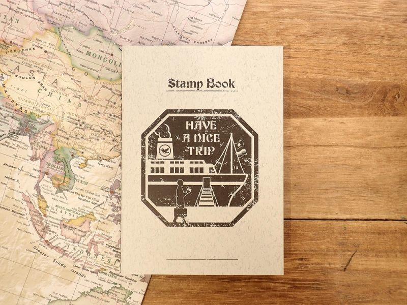 画像1: 【ネコポスOK】 旅屋オリジナル Stamp Book/スタンプブック 船