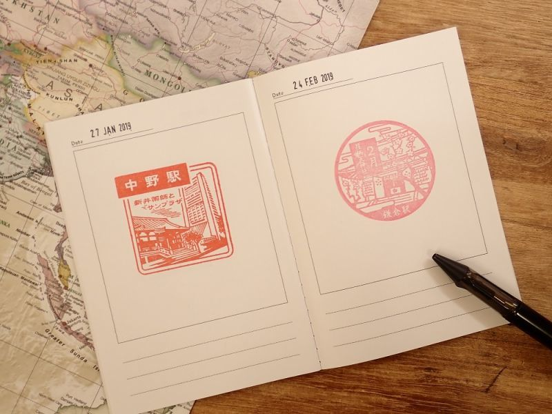 画像3: 【ネコポスOK】 旅屋オリジナル Stamp Book/スタンプブック 飛行機