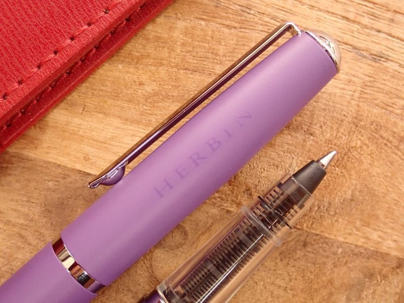 画像2: 【ネコポスOK】 J.HERBIN/エルバン カートリッジインク用ペン バイオレット