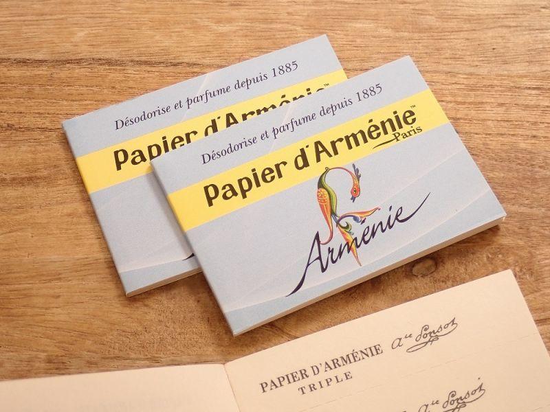 画像1: 【ネコポスOK】 フランス papier darmenie/パピエダルメニイ 紙のお香 Armenie (1個)