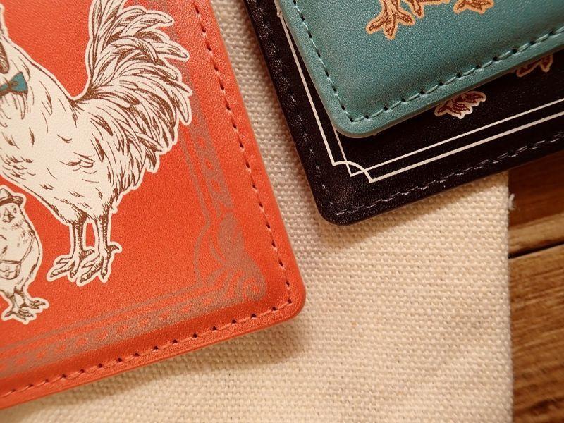 画像5: 【ネコポスOK】 旅屋オリジナル ICカードケース ミントグリーン