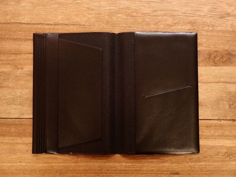 画像4: 【ネコポスOK】 きょうの一冊 ブックカバー ブラック