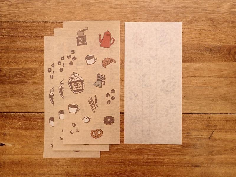 画像3: 【ネコポスOK】 今日のお手紙 コーヒータイム