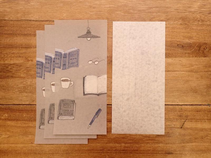 画像3: 【ネコポスOK】 今日のお手紙 コーヒー&ブック