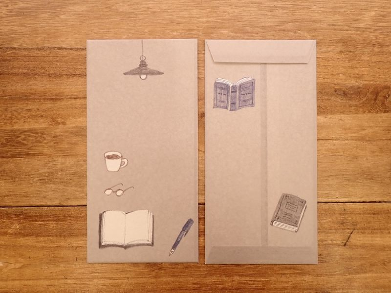 画像2: 【ネコポスOK】 今日のお手紙 コーヒー&ブック