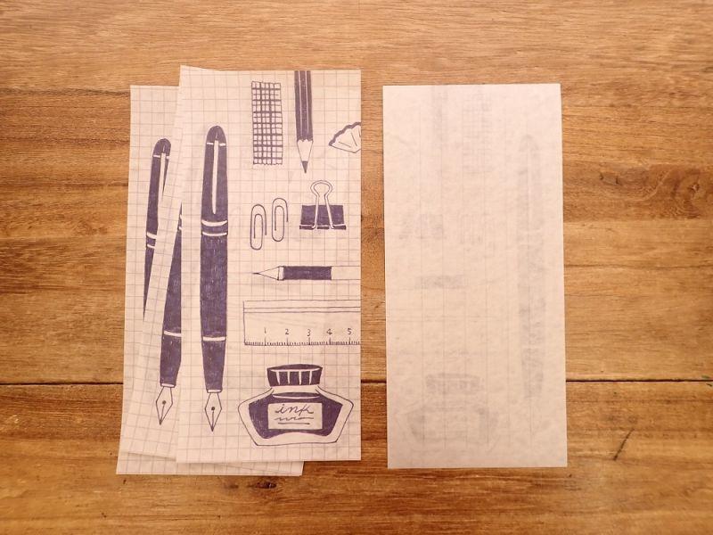 画像3: 【ネコポスOK】 今日のお手紙 文房具