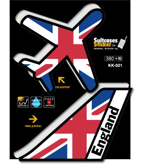 画像2: 【ネコポスOK】 機体国旗ステッカー ENGLAND/イギリス