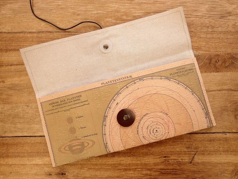 画像3: 【ネコポスOK】 Quaint Design/クイントデザイン Robinson PEN&GLASSケース 惑星