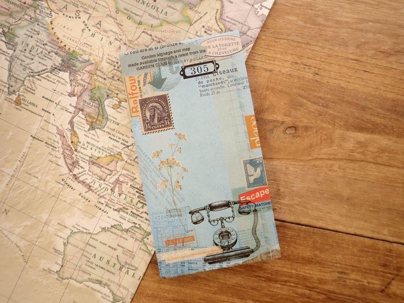 画像1: 【ネコポスOK】 MO CARD メモパッド 電話