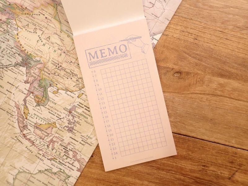画像2: 【ネコポスOK】 MO CARD メモパッド MEMO