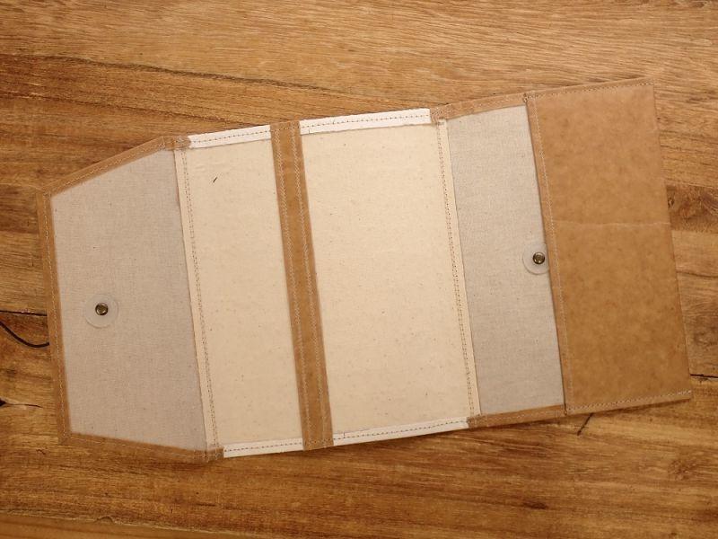 画像4: 【旅屋限定柄】【ネコポスOK】 Quaint Design/クイントデザイン Robinson 文庫ブックカバー 飛行機 EASTERN