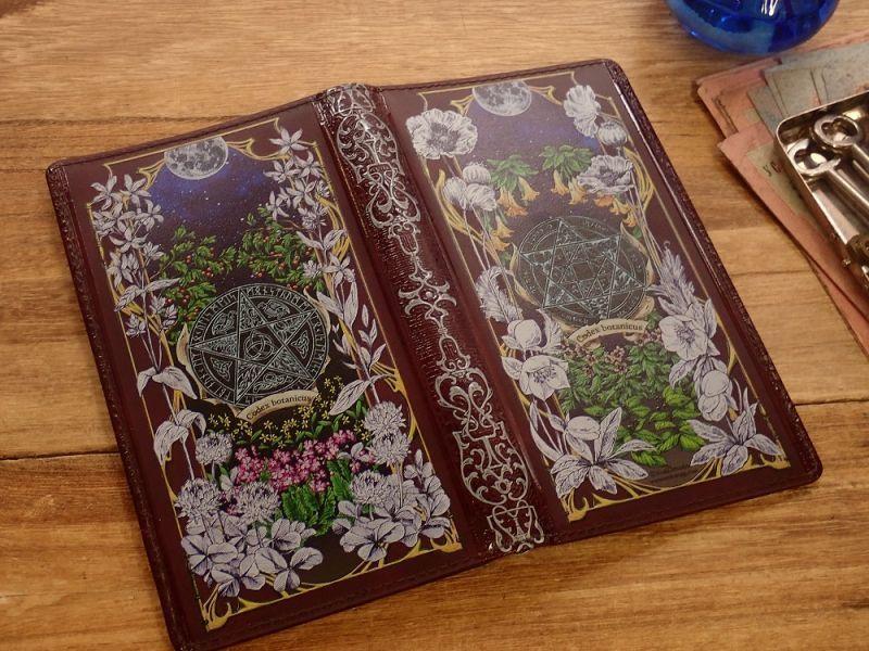 画像2: 【ネコポスOK】 生みたて卵屋 システム手帳 B6スリム codex botanicus