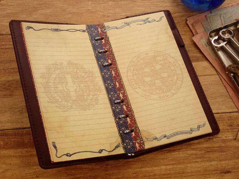 画像3: 【ネコポスOK】 生みたて卵屋 システム手帳 B6スリム codex botanicus