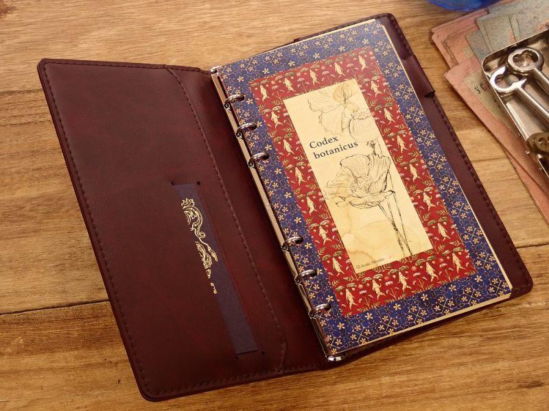 画像4: 【ネコポスOK】 生みたて卵屋 システム手帳 B6スリム codex botanicus