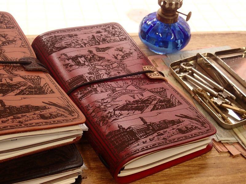 画像5: 【ネコポスNG】 生みたて卵屋 本革の旅手帳 ブラウン