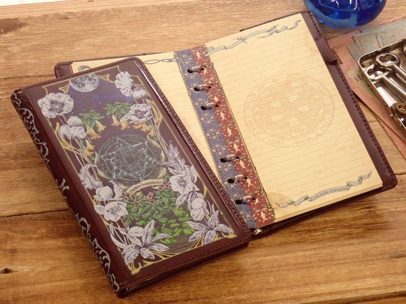 画像1: 【ネコポスOK】 生みたて卵屋 システム手帳 B6スリム codex botanicus