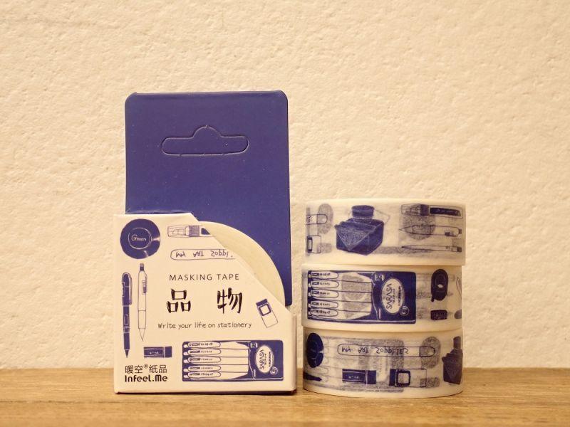 画像1: 【ネコポスOK】 INFEEL.ME マスキングテープ 品物