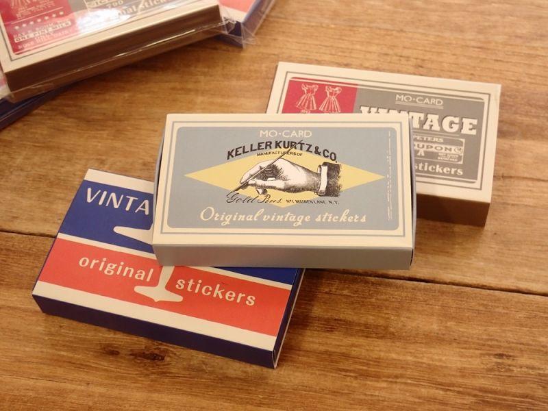 画像2: 【ネコポスOK】 MO・CARD ステッカー 老式吊牌/ヴィンテージタグ