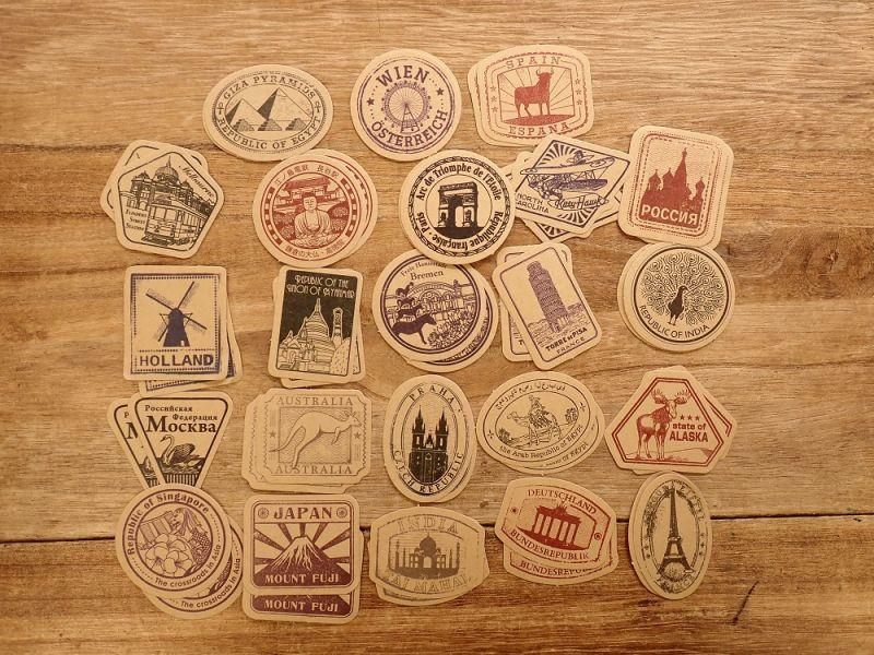画像2: 【ネコポスOK】 MO・CARD ステッカー 旧时之旅 46枚入り