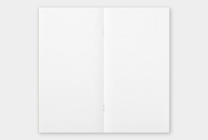 画像2: 【ネコポスOK】 トラベラーズノート リフィル レギュラー [026] ドット方眼