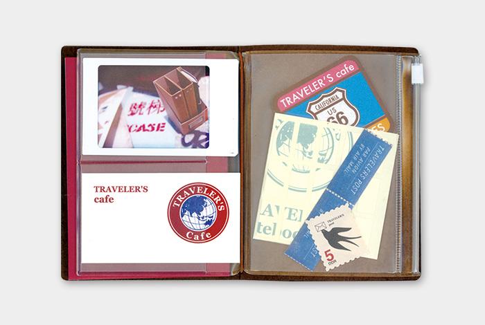 画像3: 【ネコポスOK】 トラベラーズノート リフィル パスポート [004] ジッパー