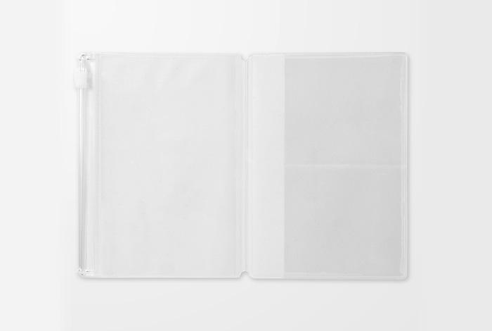 画像2: 【ネコポスOK】 トラベラーズノート リフィル パスポート [004] ジッパー