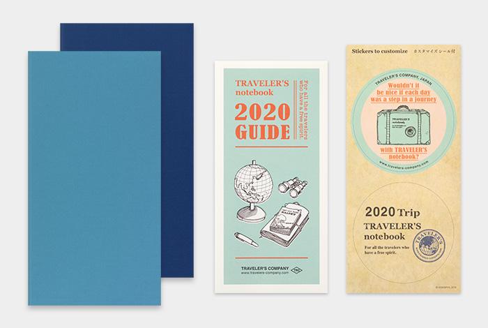 画像2: 【40%OFF】【ネコポスOK】 2020 トラベラーズノート ダイアリー 週間+メモ