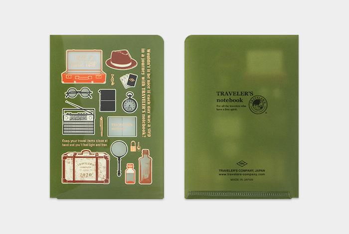 画像2: 【20%OFF】【ネコポスOK】 2020 トラベラーズノート クリアホルダー(パスポートサイズ)