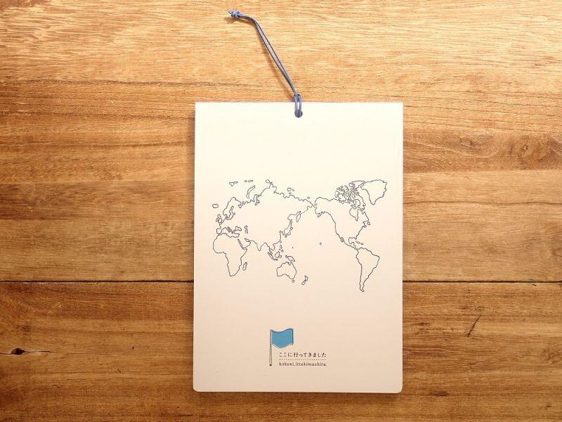 画像1: 【ネコポスOK】 お土産用小分け袋/ここに行ってきました WORLD
