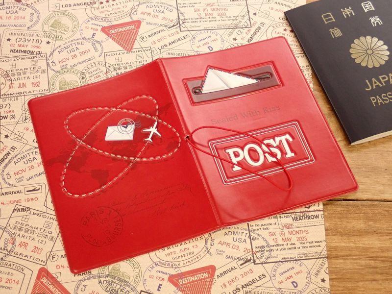 画像2: 【ネコポスOK】 パスポートカバー ポスト