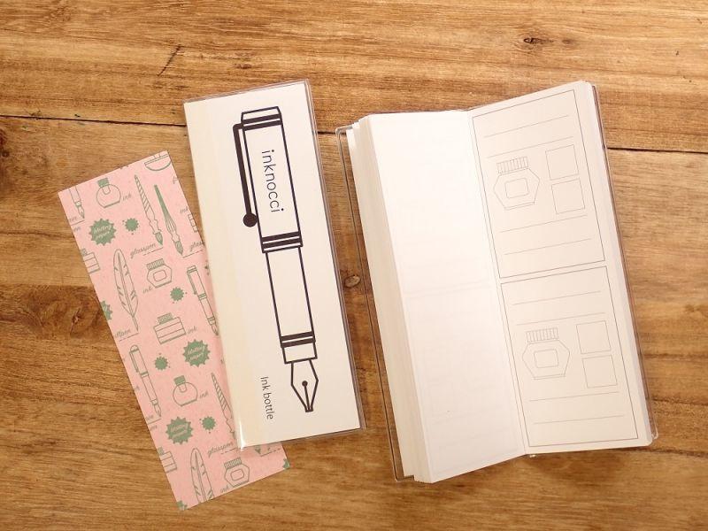 画像1: 【ネコポスOK】 kamiterior 小型ノート inknocci インクボトル