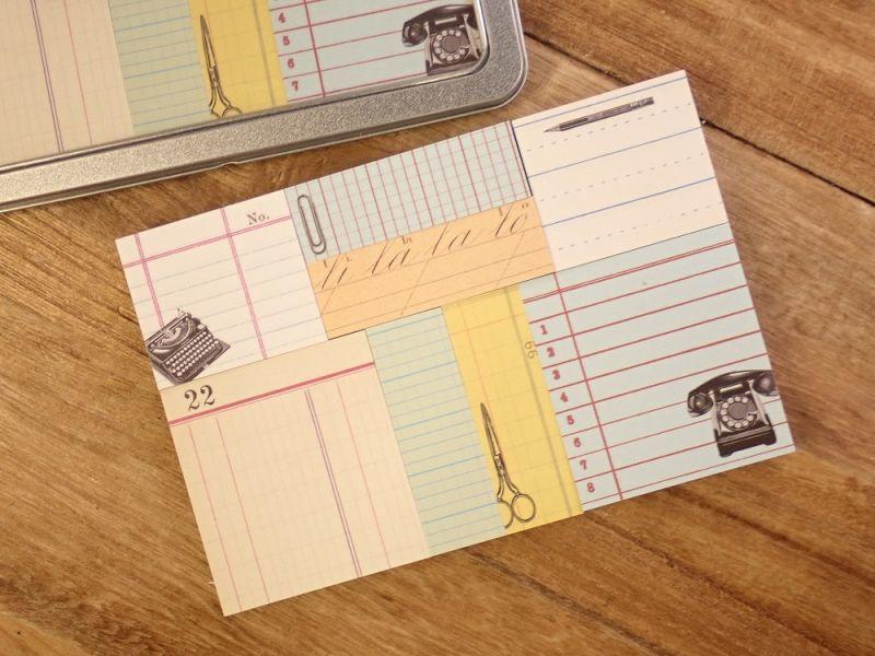 画像1: 【ネコポスOK】 アメリカ CAVALLINI/カバリーニ Sticky Notes/付箋セット Office