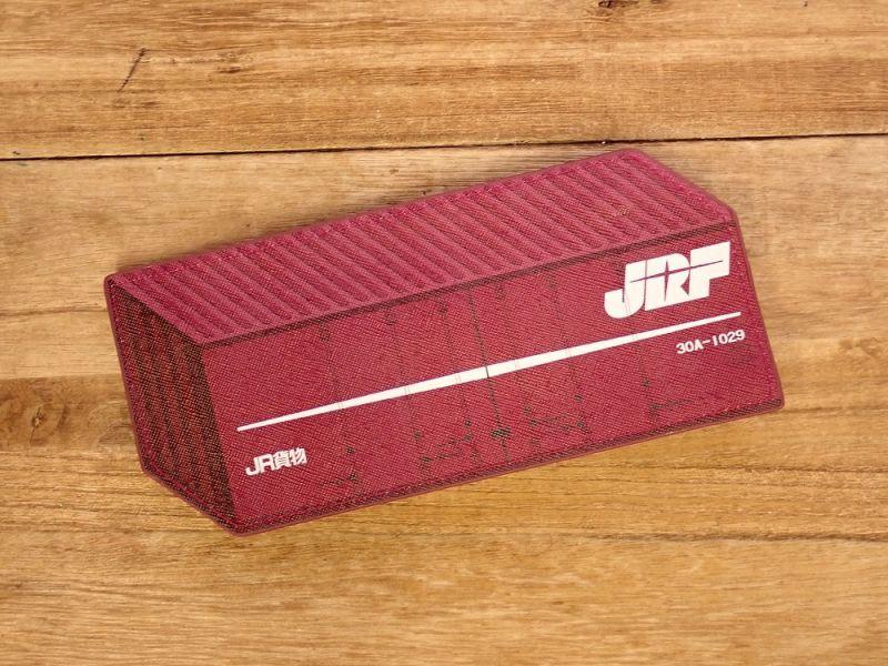 画像1: 【ネコポスOK】 ぺったんこペンケース JR貨物コンテナ30A