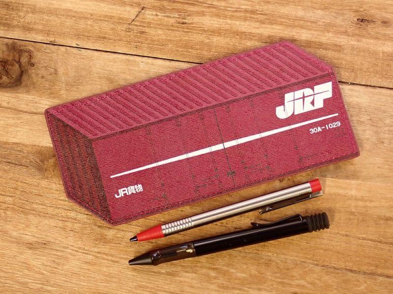 画像3: 【ネコポスOK】 ぺったんこペンケース JR貨物コンテナ30A