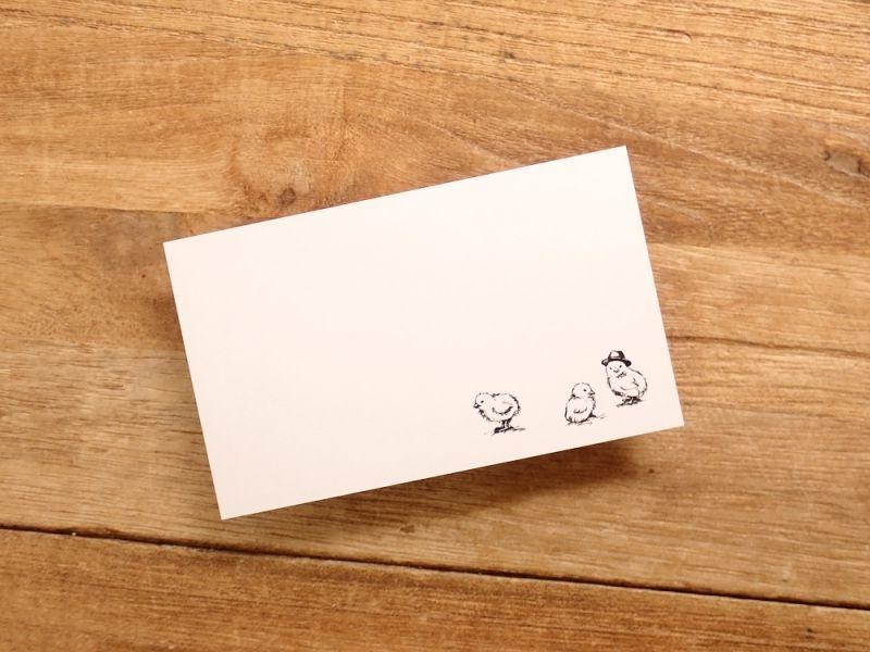 画像2: 【ネコポスOK】 旅屋オリジナル ミニカード 10枚入り Ranmaru バーミリオン