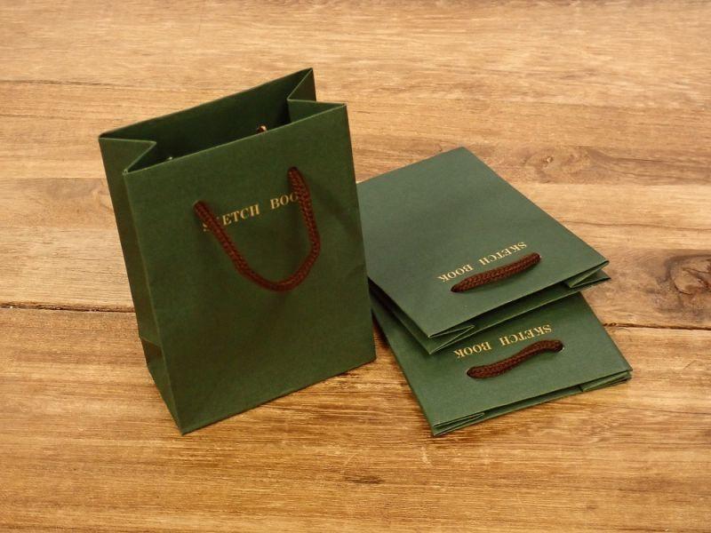 画像1: 【ネコポスOK】 レトロブング ミニ紙袋 3枚入り  野帳柄